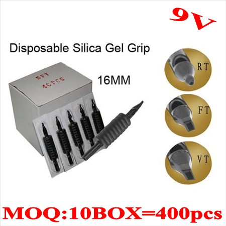 400pcs 9V  Disposable grips without needles 16MM