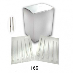 "16G Sterilized 2"" Body Piercing Needles -BOX OF 100"