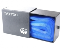 100pcs/box Hot sale Disposable Tattoo Clip Cord Machine Covers Bags Blue Tattoo Supply