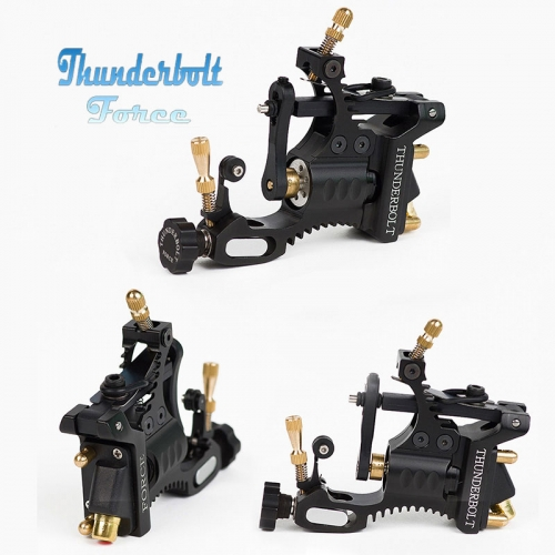 Thunderbolt Force Rotary Tattoo Machine -Siliver