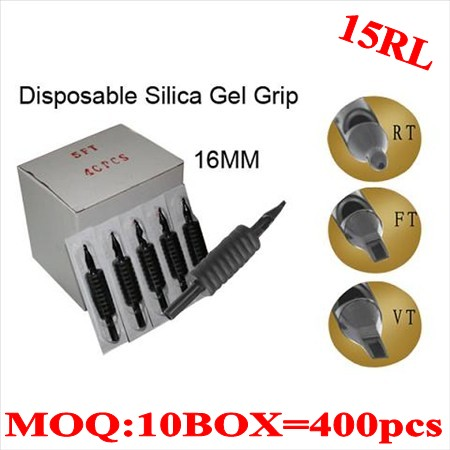400pcs 15RL  Disposable grips without needles 16MM