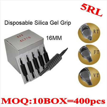 400pcs 5RL  Disposable grips without needles 16MM