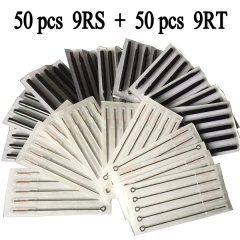 9RS Tattoo needles+ 9RT Disposable  Long Tips