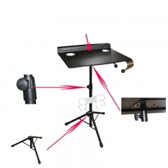 Portable Tattoo Studio Compact Stand Table Travel Desk Tray