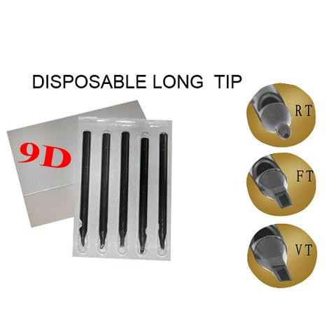 9DT Disposable Long Tips 108MM BOX OF 50