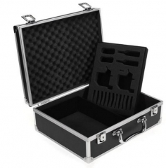 Black Pro  aluminum Tattoo Machine box case