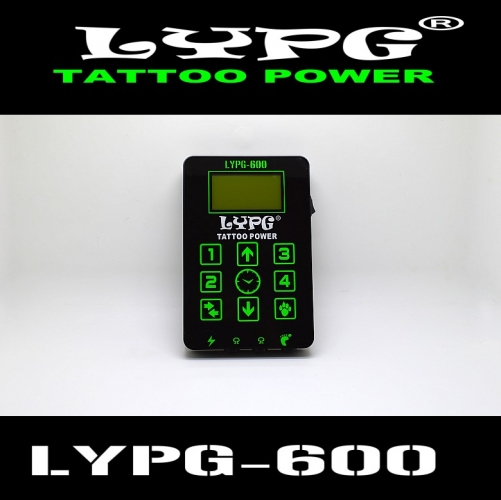 LYPG-600 Multi-function power supply, Latest Tattoo Power Supply of 2018