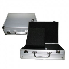 White Pro  aluminum Tattoo Machine box case