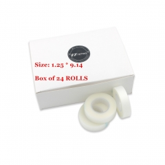 Tattoo Medical Surgical Tape ,  White, 24pcs/box