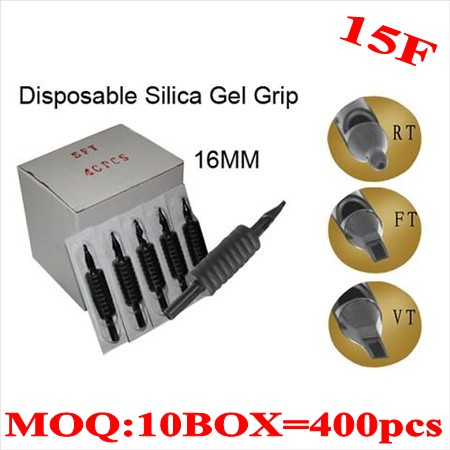 400pcs 15F  Disposable grips without needles 16MM