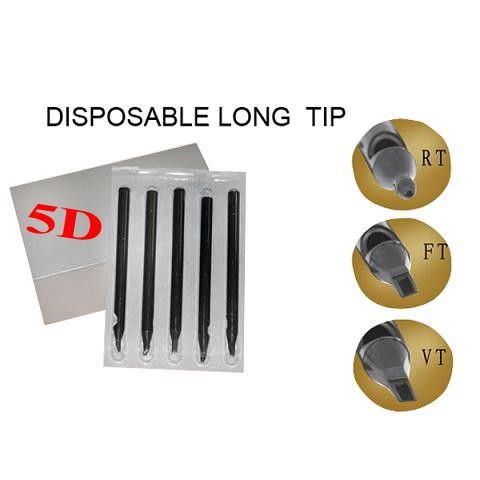 5DT Disposable Long Tips 108MM BOX OF 50