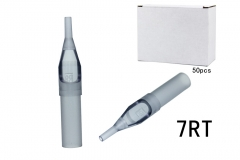 RT7--250pcs  Grey Plastic Disposable Tattoo Tips