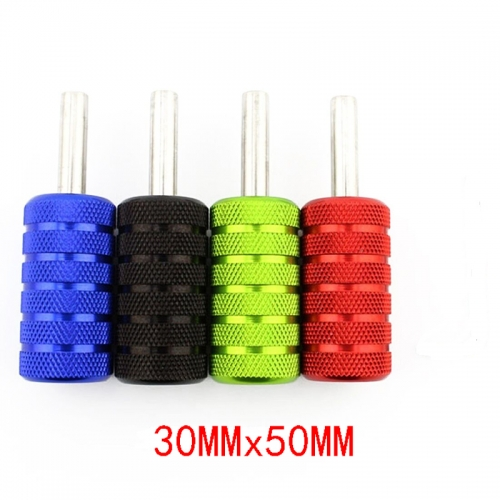 30mm Aluminum Alloy Tattoo Machine Handle Grip Back Stem